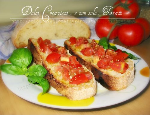 Bruschetta Mediterranea Made in Italy