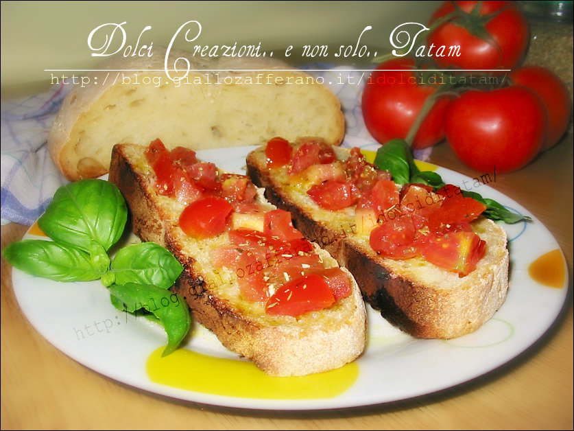 Bruschetta Mediterranea Made in Italy