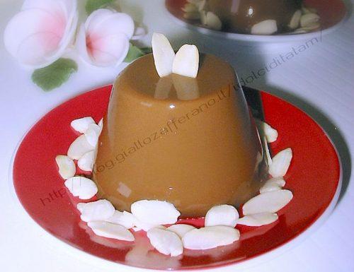 Budino di caffè al Ginseng, ricetta senza uova