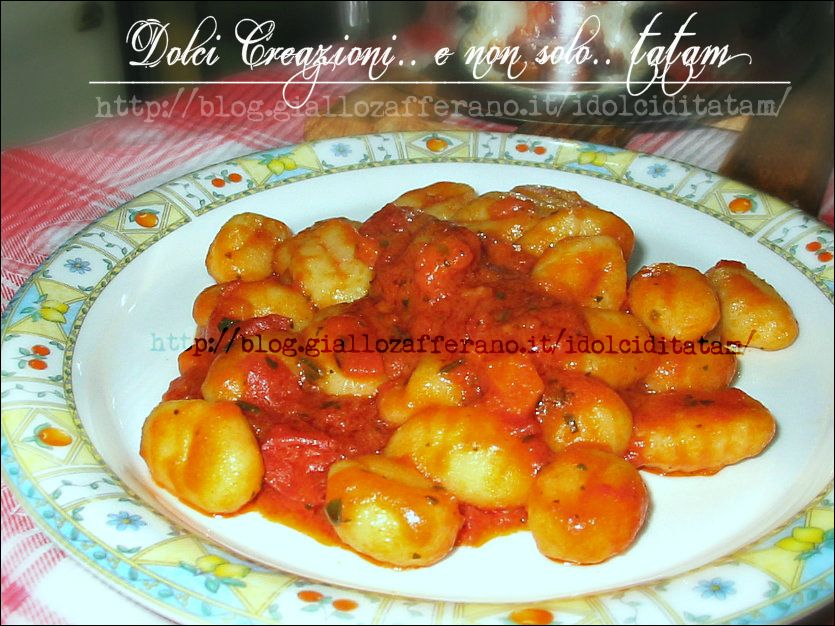 Gnocchi Pomodoro e Basilico