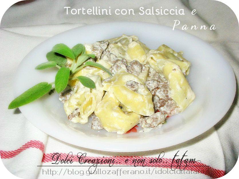 Tortellini Salsiccia e Panna