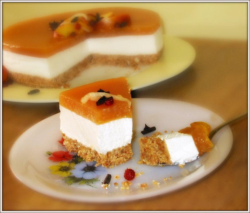 cheesecake pesche 2