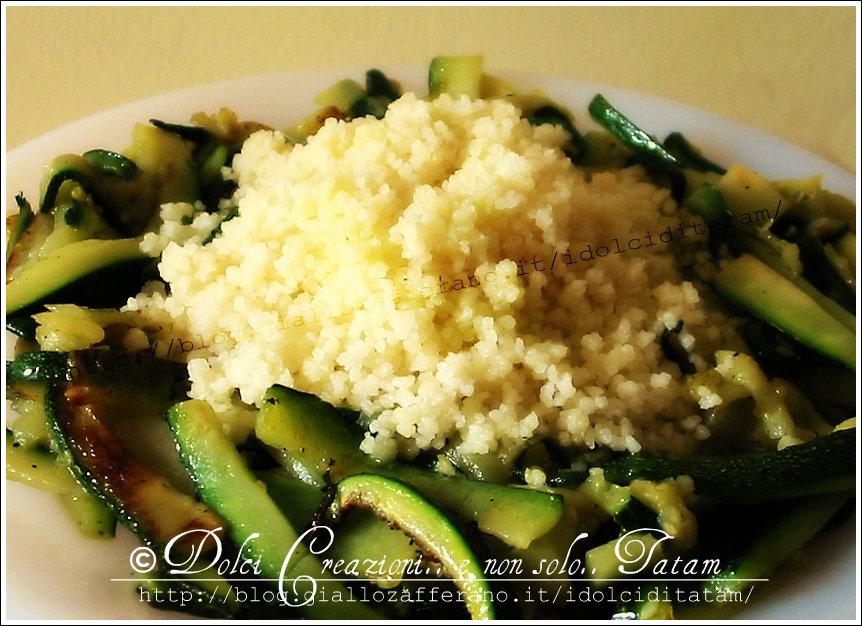 couscous con zucchine 1