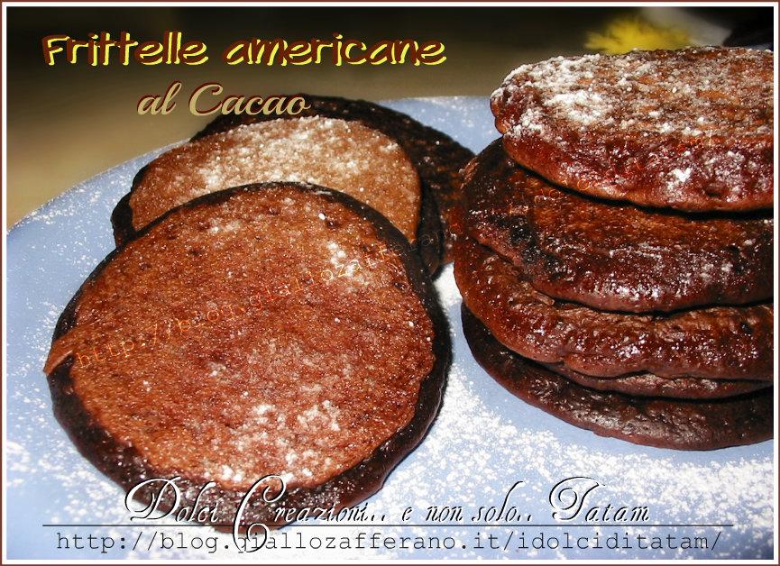 Frittelle Americane al Cacao con Lievito Madre