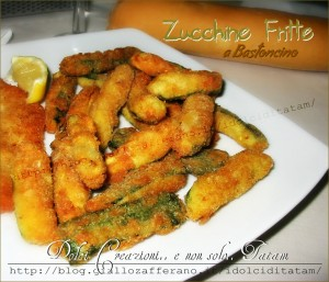 zucchine fritte bastoncino
