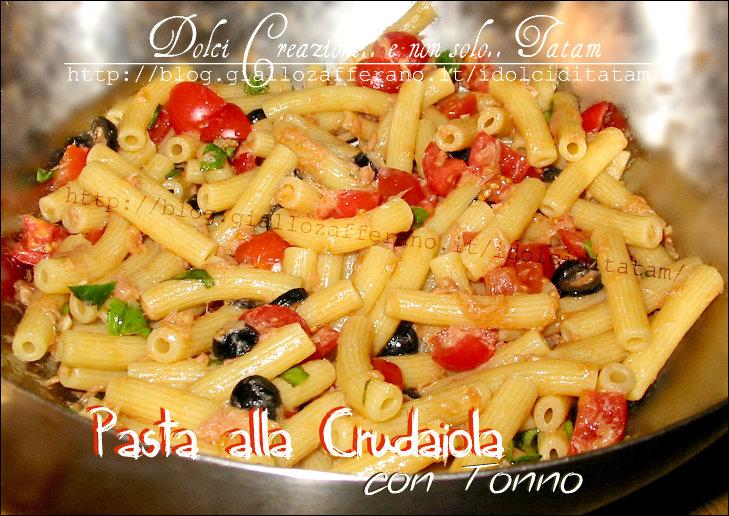 Raccolta ricette salate primi piatti freddi e veloci tatam for Ricette di primi piatti veloci