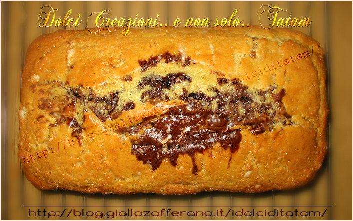 Plum Cake Bicolore alla Arancia