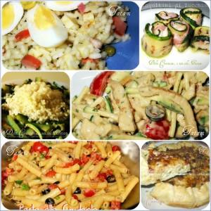 Raccolta ricette salate: primi piatti freddi e veloci