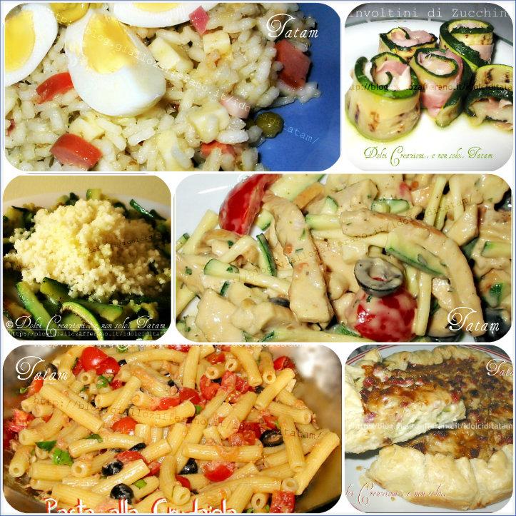 raccolta ricette salate primi piatti freddi e veloci tatam