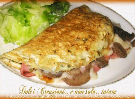 Omelette Baveuse Farcita