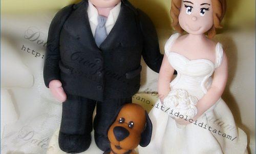 Cake topper Oggi Sposi