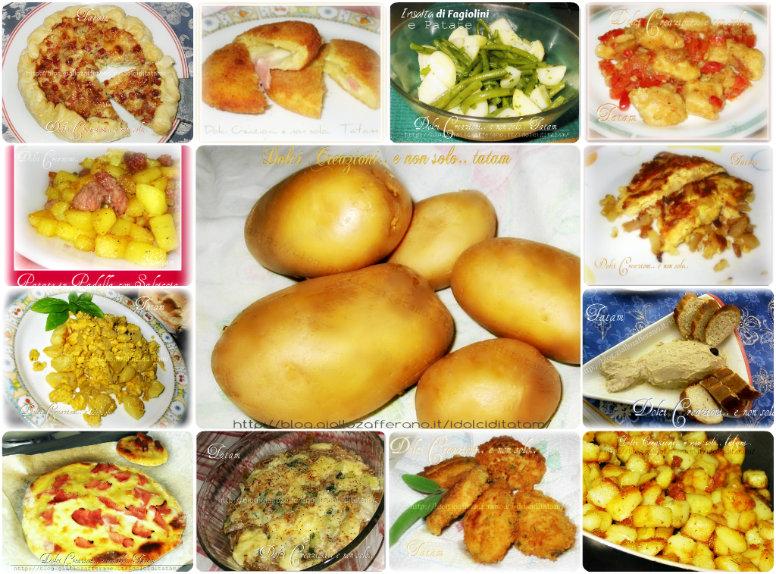 Raccolta di ricette con le patate dolci creazioni e non for Raccolta patate