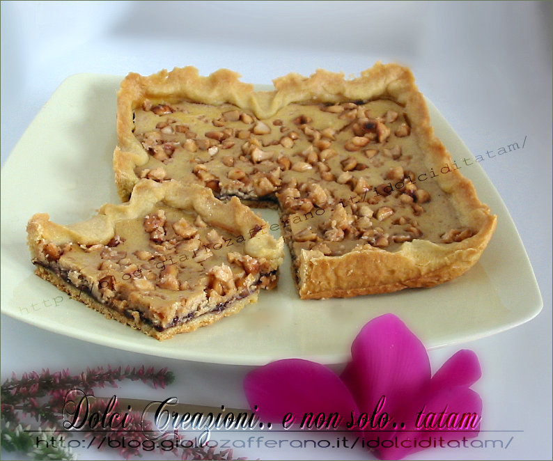 crostata nutella crema mascarpone