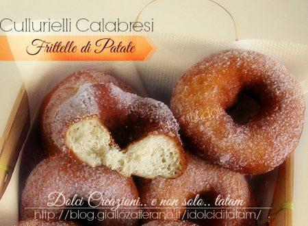Le Frittelle di patate Cullurielli Calabresi