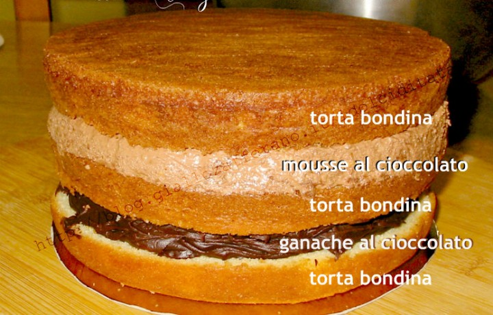 Torta Biondina Base per torta decorata