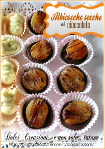 albicocche secche cioccolato