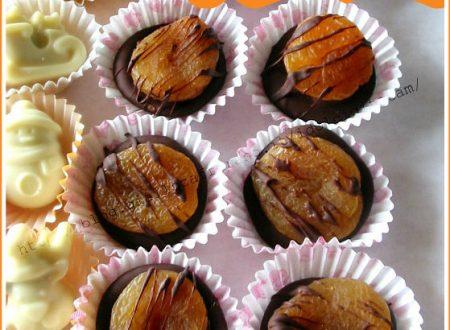 Albicocche secche al cioccolato