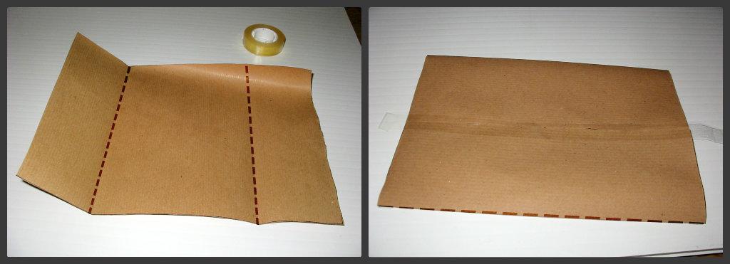 Bustina di carta fai da te tutorial fotografico fai da for Sacchetti di carta fai da te