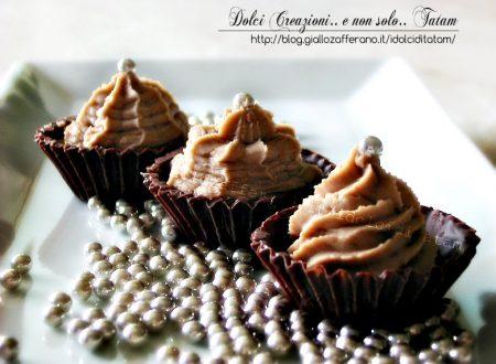 Cioccolatini con crema al mascarpone, Nutella e menta