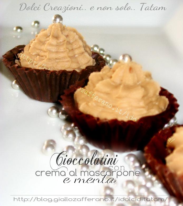 cioccolatini con crema al mascarpone