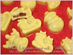 cioccolatini ripieni all'amaretto