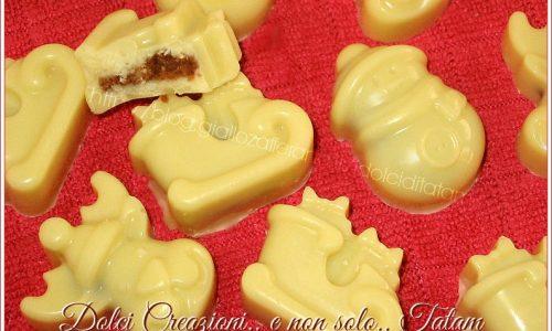 Cioccolatini con ripieno all'amaretto