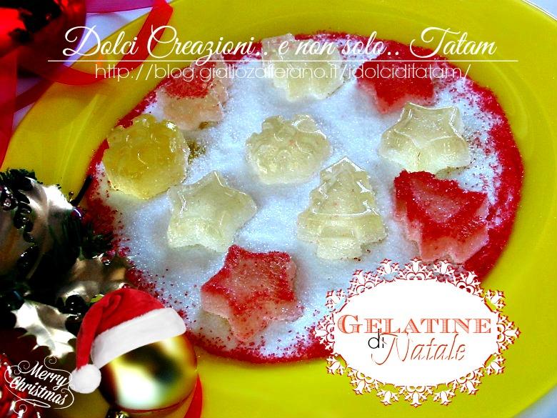 Gelatine di Natale