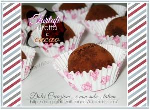 tartufi ricotta cacao
