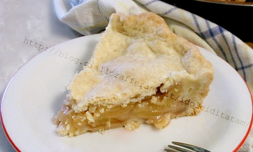 Apple pie – Torta di mele americana