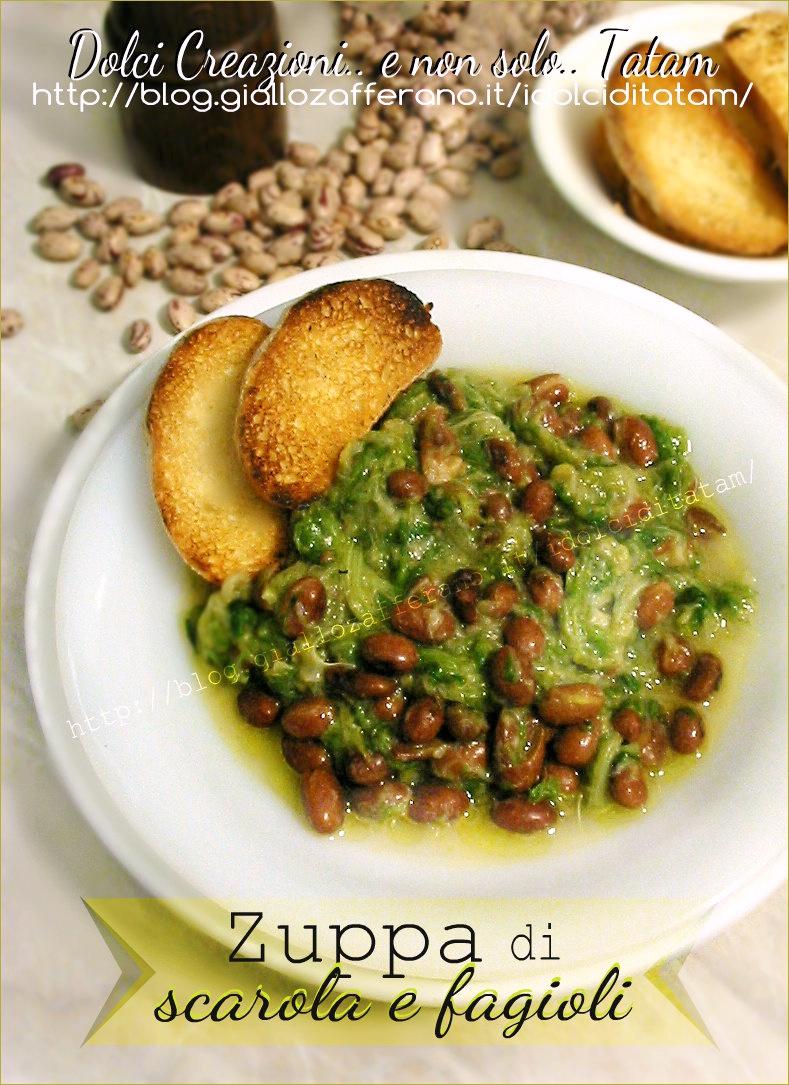 zuppa di scarola e fagioli1
