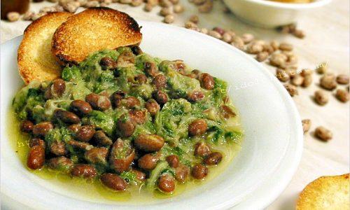 Zuppa di Scarola con fagioli