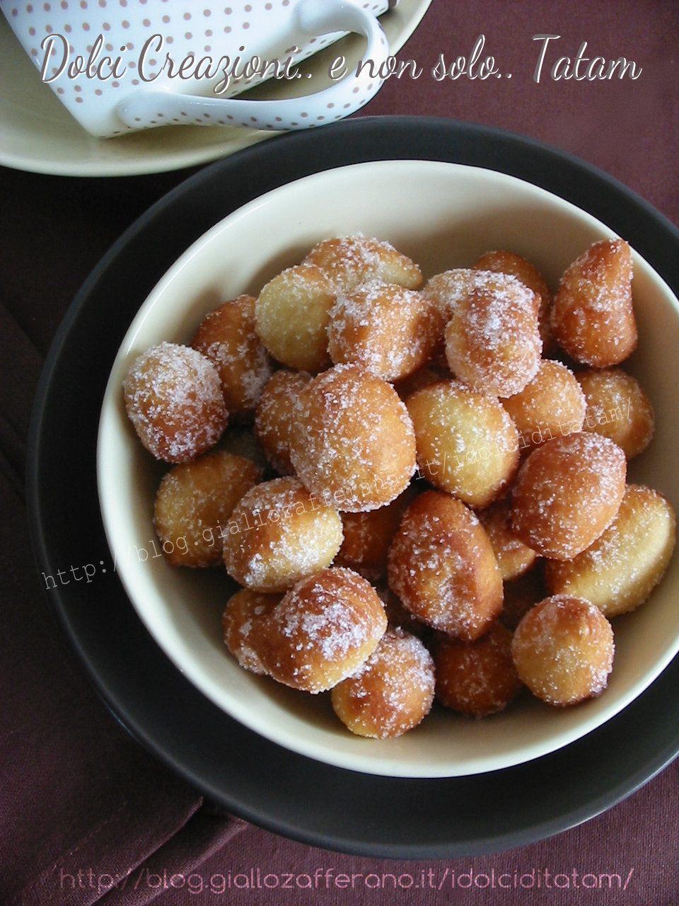 Gnocchi fritti dolci