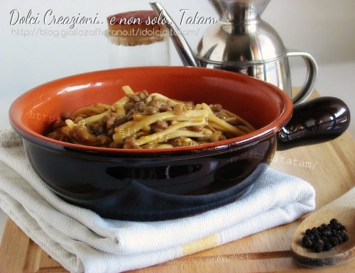 Pasta con lenticchie