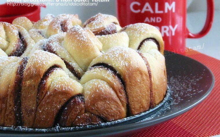 Torta di pan brioche alla Nutella®