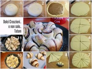 torta pan brioche passo passo