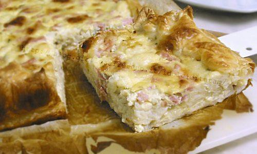 Torta salata di cavolfiore