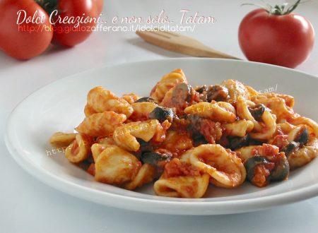Orecchiette al sugo di olive nere