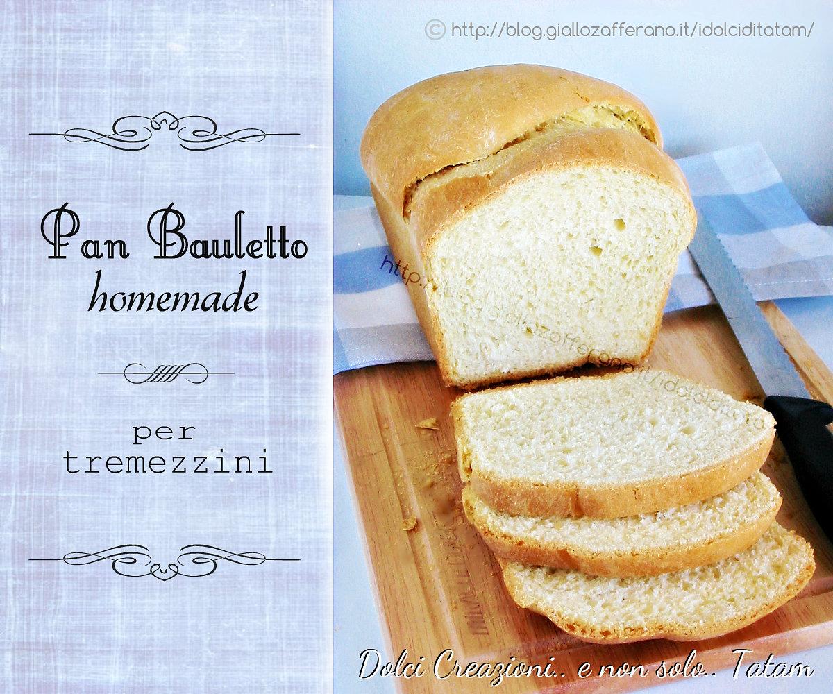 Pan bauletto homemade per tramezzini