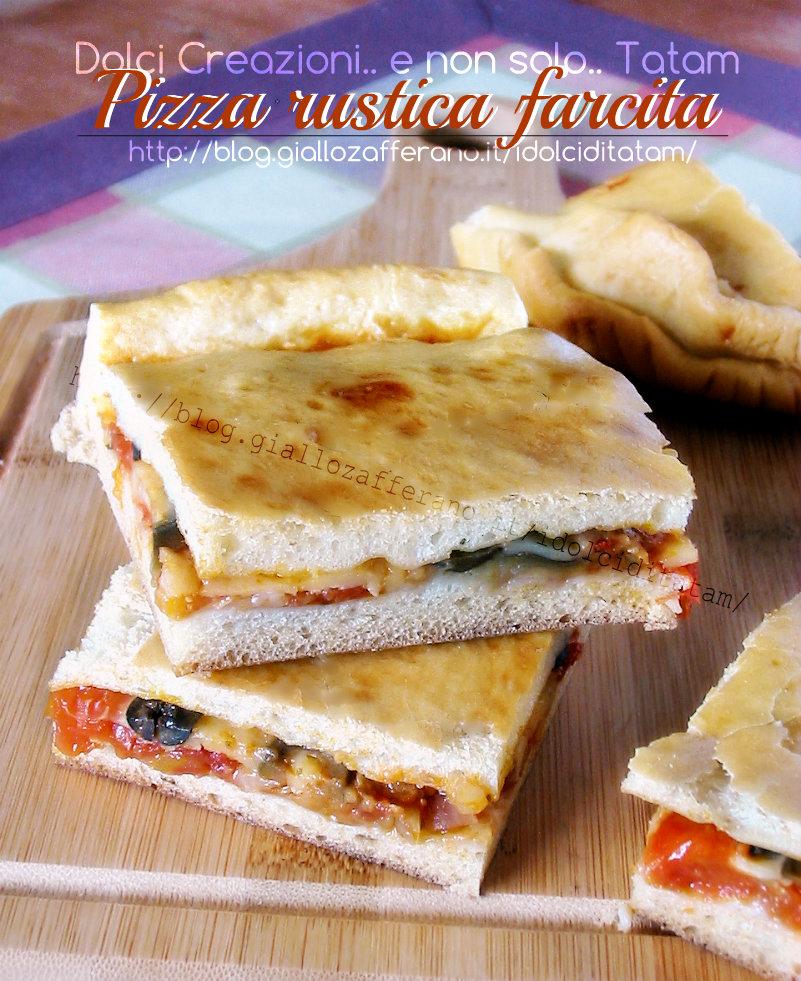 Pizza rustica farcita