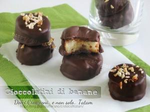 cioccolatini di banane