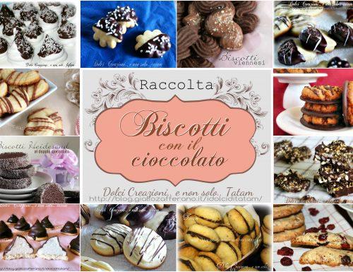 Raccolta Biscotti col cioccolato