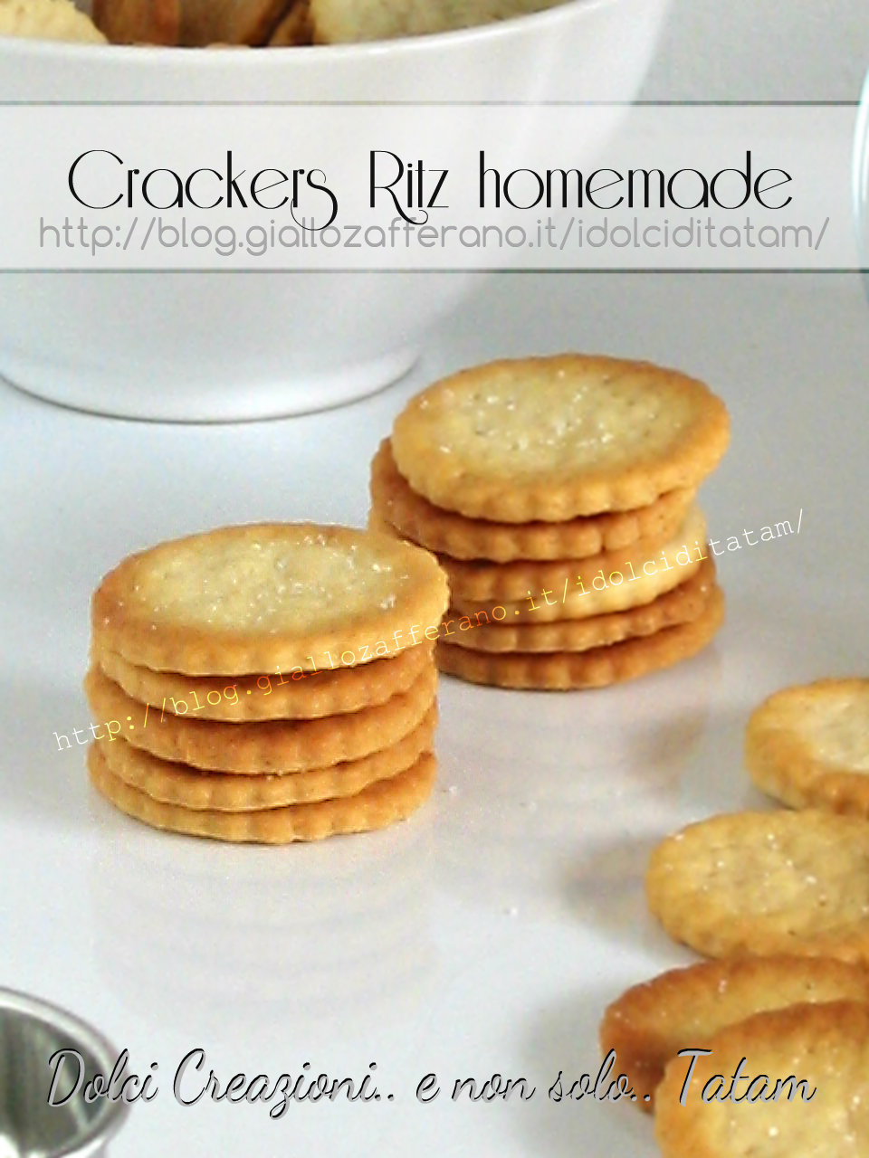 Homemade Ritz Crackers Recipes — Dishmaps