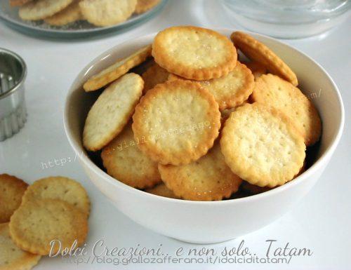 Crackers Ritz homemade