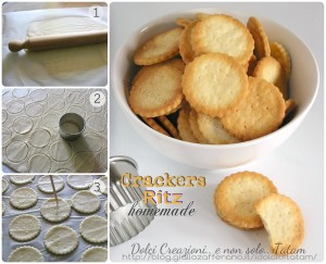 Crackers Ritz homemade 1-3