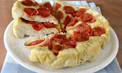 Focaccia Rovesciata ai Pomodorini