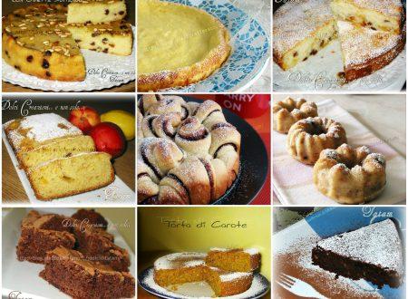 Raccolta Ricette di Torte per colazione e merenda – 2° parte