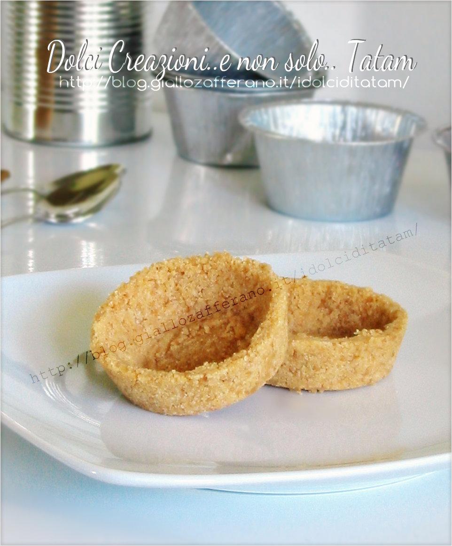 Gusci di biscotto per tartellette