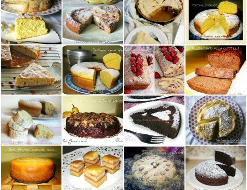 Raccolta Ricette Torte per colazione e merenda – prima parte