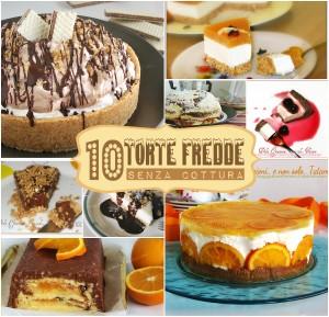 10 Torte fredde senza cottura