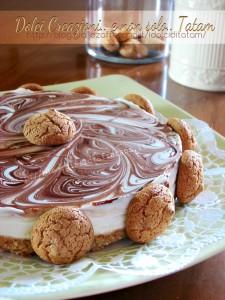 Cheesecake Nutella e amaretti 3